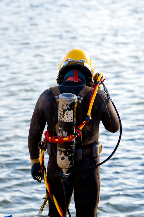 underwater dive operations